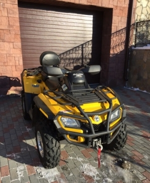 BRP Can-am outlander max xt 650 efi 2009 Чебаркуль